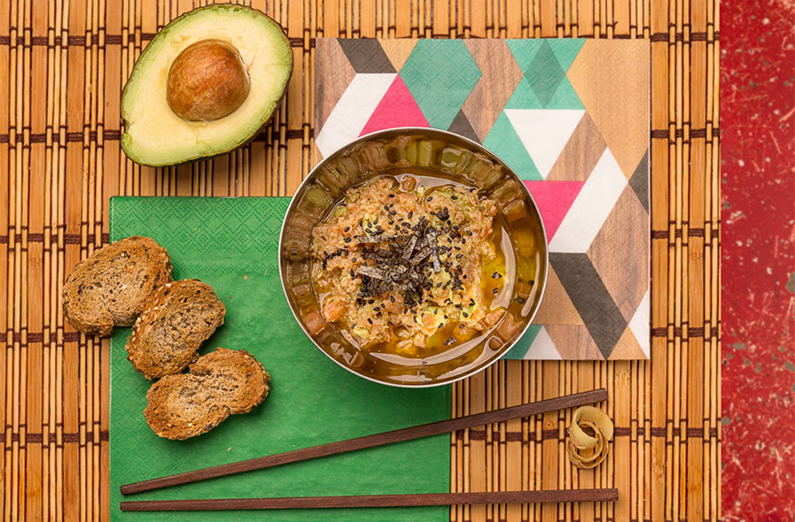 fotografía comida tataki