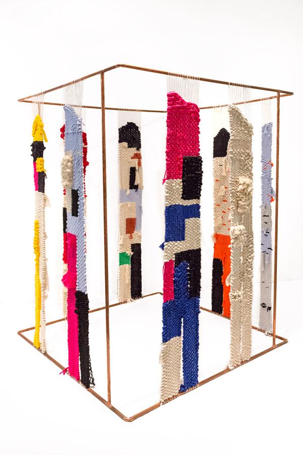 Tapices Paella showroom: chromocube