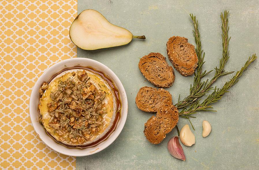 fotografía comida Camembert