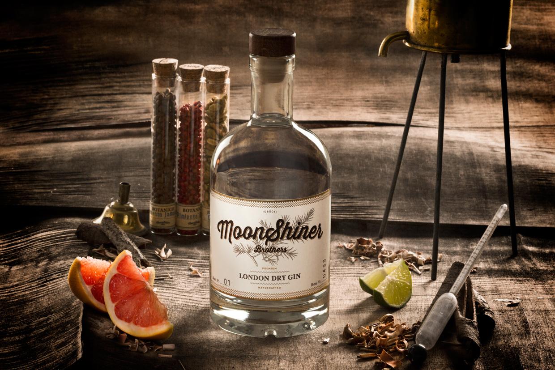 fotografía publicitaria para el gin