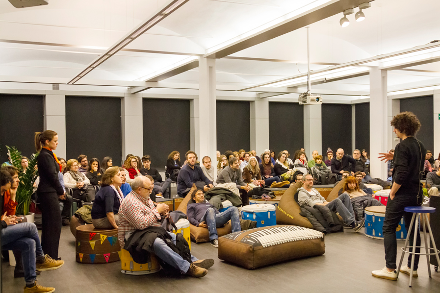 Sesión de preguntas evento Chamo San