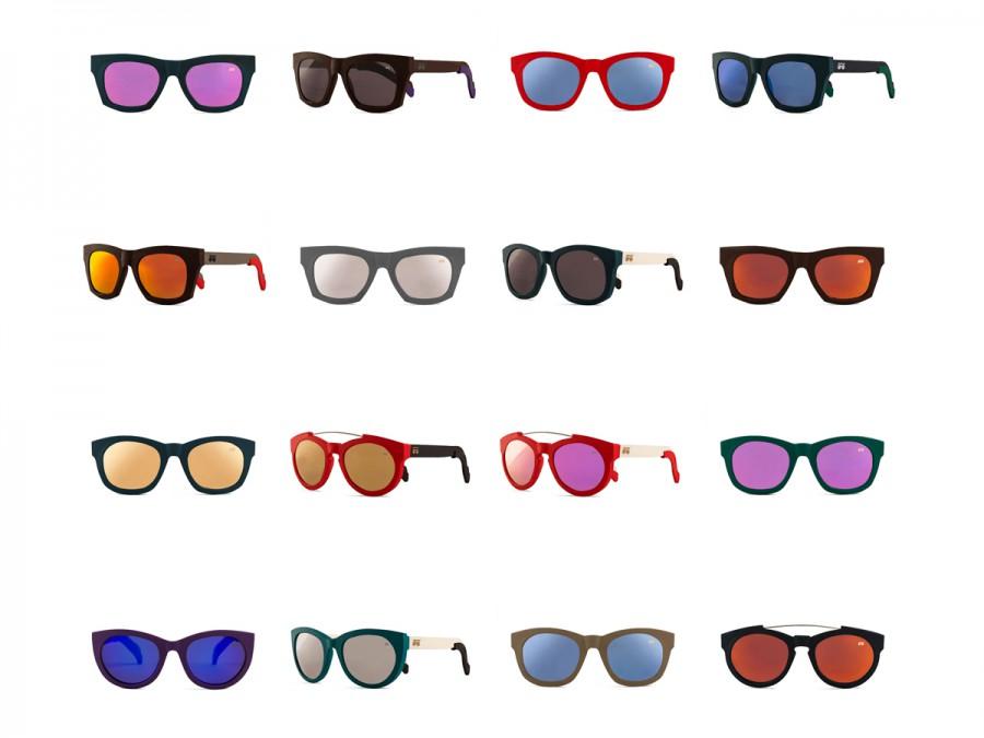 Fotografías de gafas de sol para la marca Uniqbrow