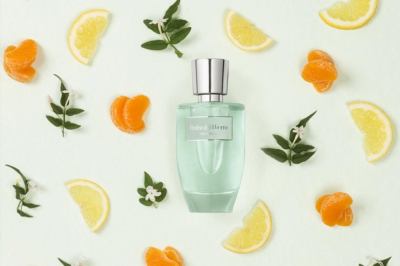 foto publicitaria de un perfume de Pedro del Hierro