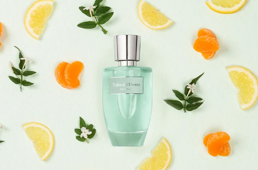 Foto publicitaria perfume