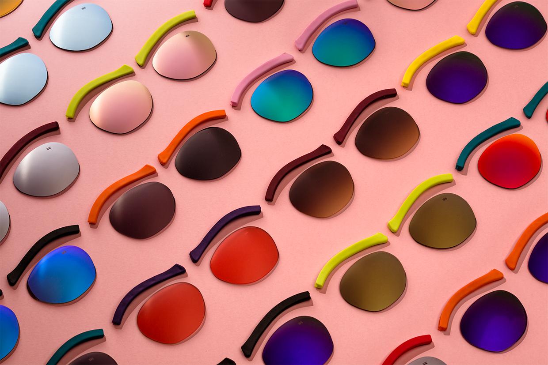 bodegon publicitario gafas