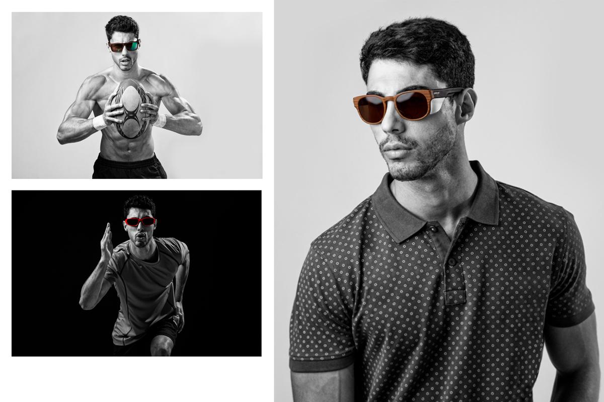 Fotografías moda lookbook gafas